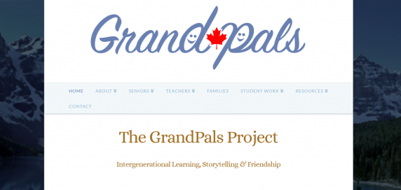 Grandpals Program Banner