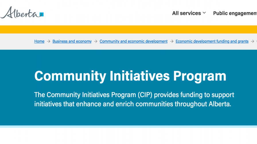 Funding for community initiatives