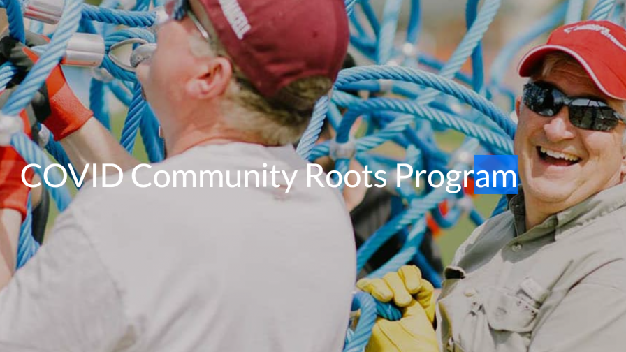 COVID Community Roots Program Webpage