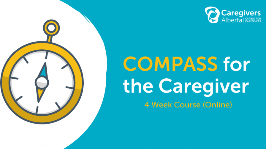 COMPASS for the Caregiver - 4 Week Course (Online)